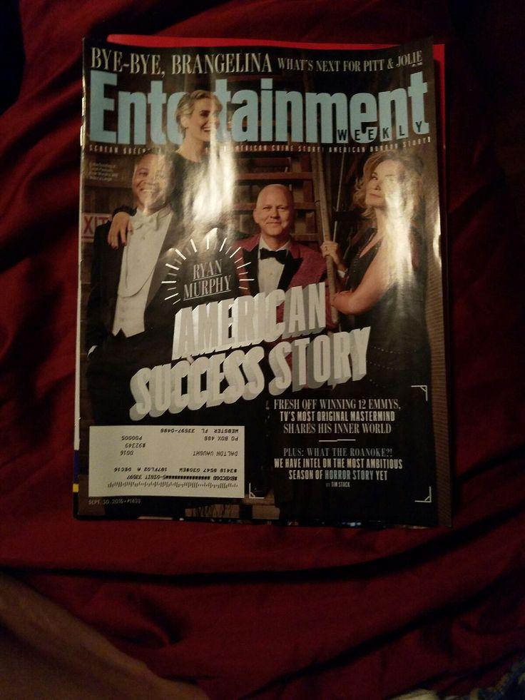 Entertainment Weekly Magazine September 30, 2016  entertainment american success story...   https://nemb.ly/p/Nk87_PW6b Happily published via Nembol