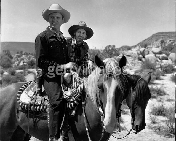 The Gene Autry Show   The Gene Autry Show: Gene Autry and Pat Buttram - Sitcoms Online Photo ...