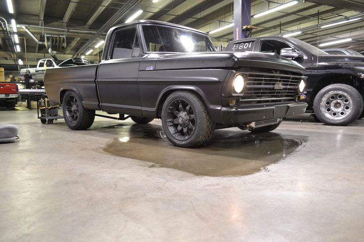 Cool Metal Shops   69 Ford F-100 12 Valve Swap (Twin Turbos, Built Trans, and more ...