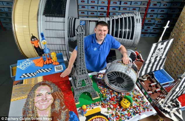 Official professional Lego builder - Is this the best #job ever?