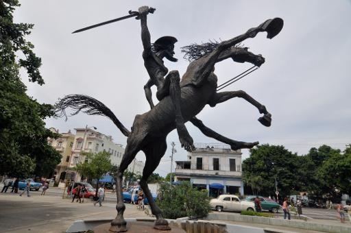 Don Quixote bronze statues - Google Search