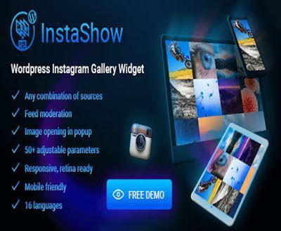 InstaShow v1.4.1 - WordPress Instagram Gallery Widget