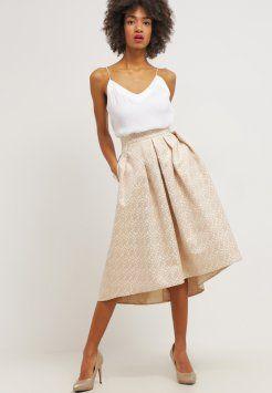 Closet - A-line skirt - metallic