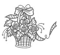 Best 396.0+ Embroidery Floral Baskets images on Pinterest