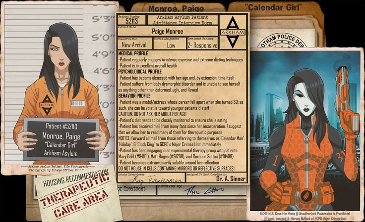Arkham Files - Calendar Girl by Roysovitch
