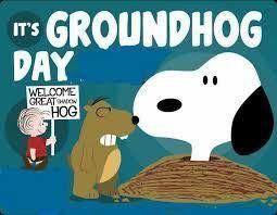 Damn groundhog!  Six more weeks of winter!