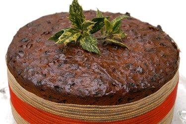 Mum's traditional Christmas cake