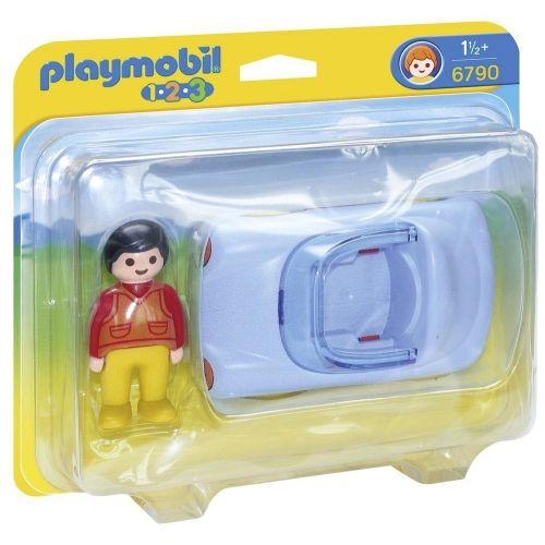 Voiture cabriolet - Playmobil 1 2 3 - 6790 - Jouets & activités créatives 1,2,3