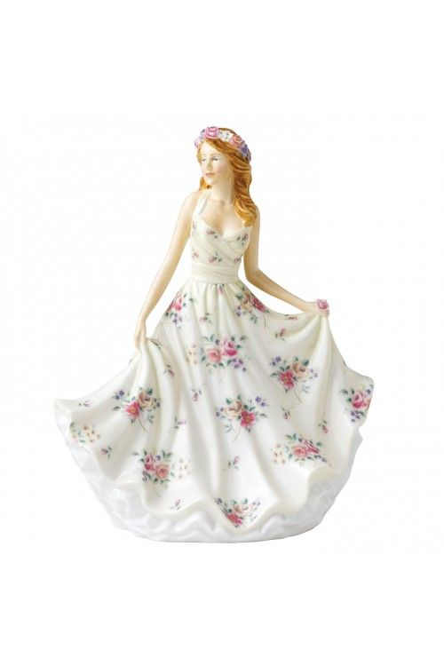 Royal Doulton Pretty Ladies Melissa HN 5666 - at Waterford Wedgwood Royal Doulton, Tanger Outlets, San Marcos, TX or call 1-800-203-4540 or 1-512-396-4025.