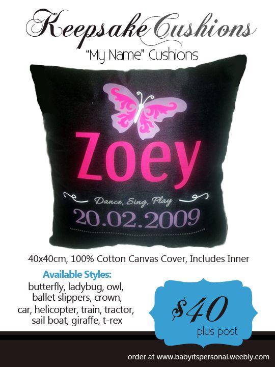 Keepsake Cushion http://www.babyitspersonal.com/store/c8/Keepsake_Cushions.html