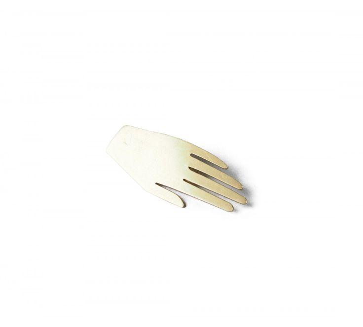 hand brooch KOPI