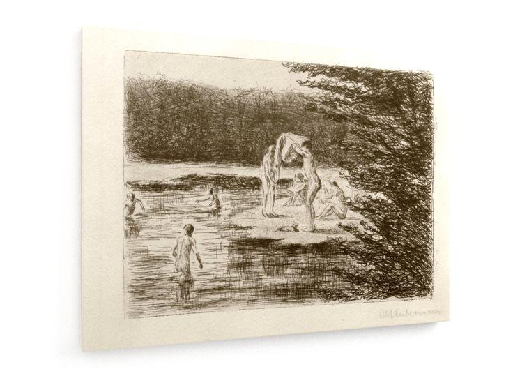 Max Liebermann, Badende Knaben #Max #Liebermann #weewado #max #liebermann #swimming #outdoors #bath