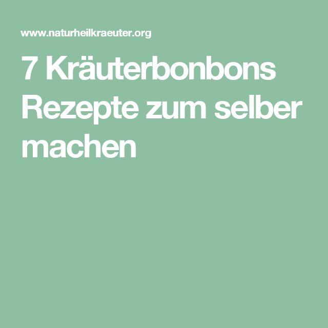 7 Kräuterbonbons Rezepte zum selber machen