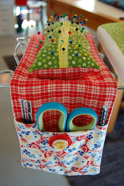 Ironing Board Caddy by Miss Sews-It-All http://sewsitall.blogspot.com/2012_03_01_archive.html