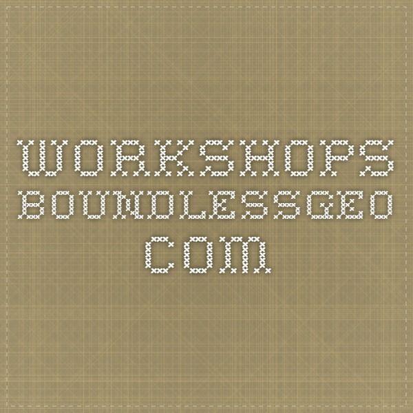 workshops.boundlessgeo.com