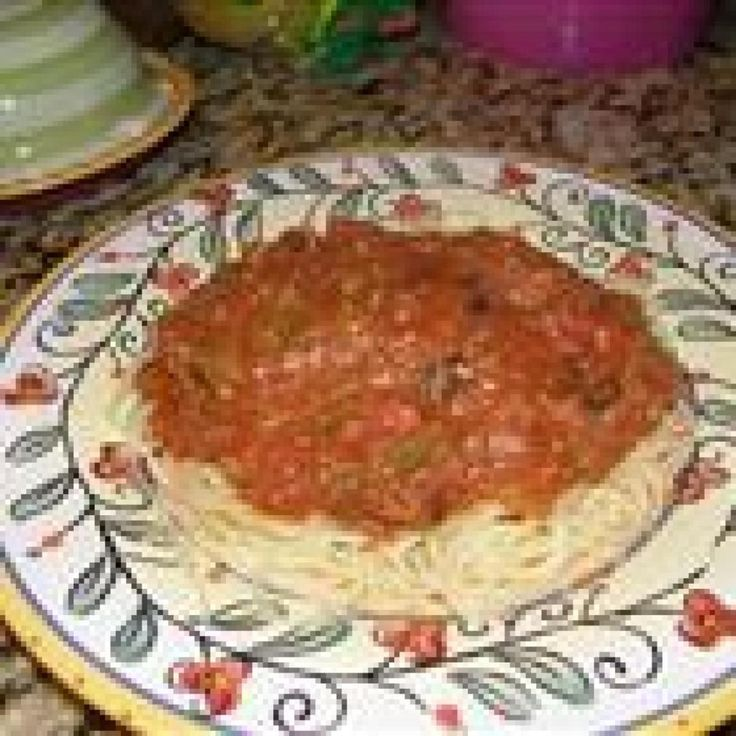No-Salt Spaghetti Sauce