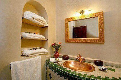 Lit escamotable estrade for Salle bain marocaine