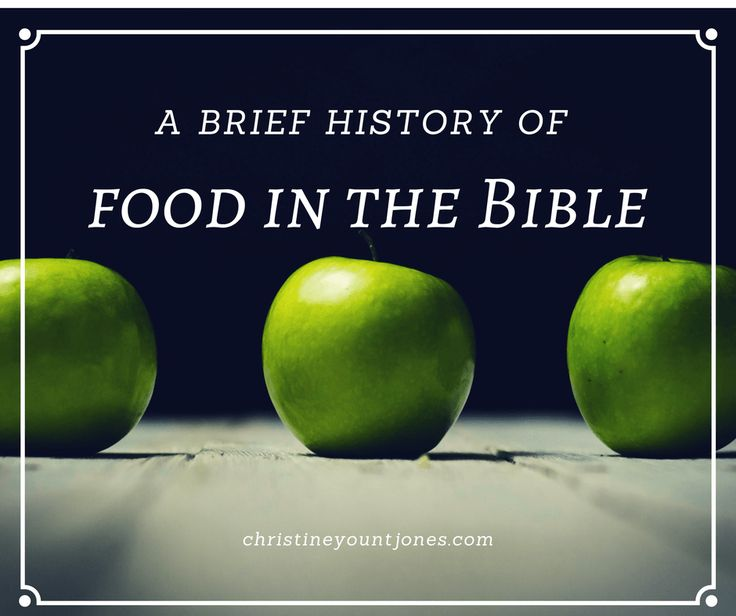 When we understand how God sees food in our lives, we're on the path to overcoming our own food issues and obsessions.