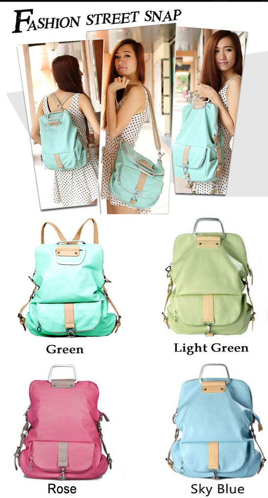 Unique Fresh Multifunction Backpack & Handbag & Shoulder Bag for big sale ! #unique #backpack #bag #shoulder #handbag #cute