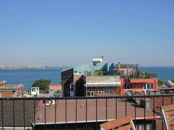 Top roofs near Bosphorus