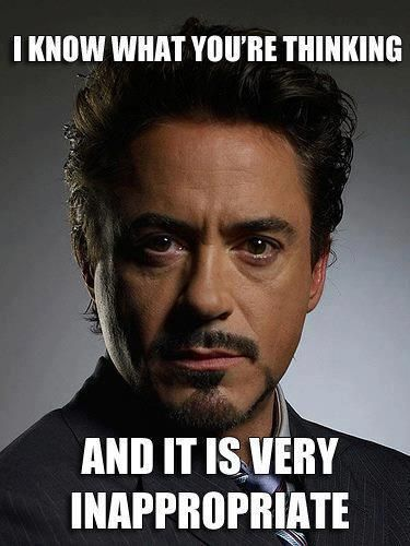 Robert Downey, Jr. I can't help myself!