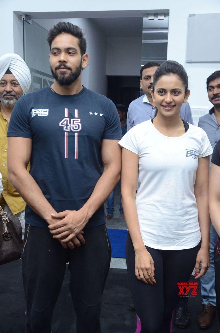 Saina Nehwal Launches Rakul Preet Singhs F45 Gym At Kokapet Gallery Set 1 - Social News XYZ