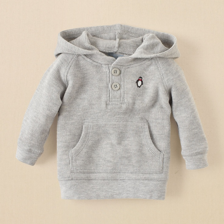 newborn - boys - pullover hoodie | Children's Clothing | Kids Clothes | The Children's Place