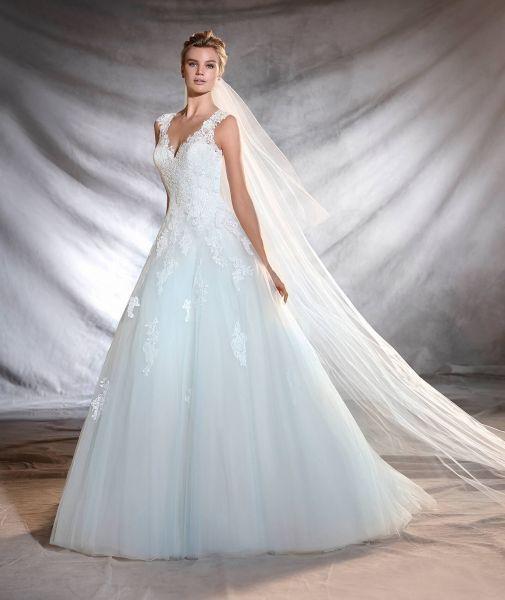 Vestidos de novia de color 2017: 27 diseños para ser diferente al resto Image: 23