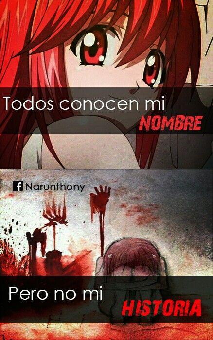 #Frases #Anime #Phrases #Elfenlied #quotes #narunthony #frasesdeanime #Frasesanime #desmotivaciones #Animegirl