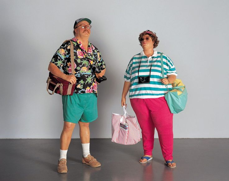 Click to enlarge image duane-hanson-tourists-ii-1988.jpg