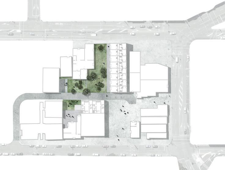 Hanson Street backyard masterplan