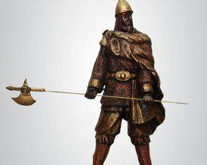 Guerreiro Viking - Escultura