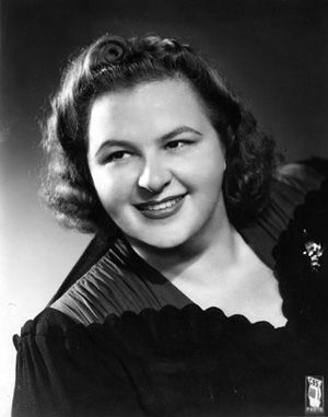 """KATE SMITH (1907 - 1986) This woman had a voice and could actually sing; as opposed to those who just  """"Make Noise""""."""