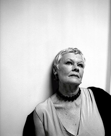 Dame Judy Dench; one of my favorite people, ever!!!!