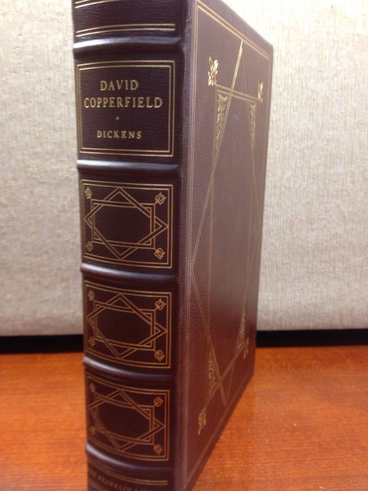 Franklin Library Full Leather David Copperfield Charles Dickens 100 Greatest