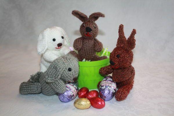 Teenie Tiny Bunnies for Easter