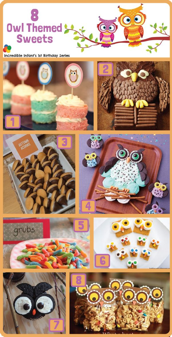 8 Owl Birthday Party Cake Ideas take from 30 Owl Birthday Party Ideas from http://www.incredibleinfant.com