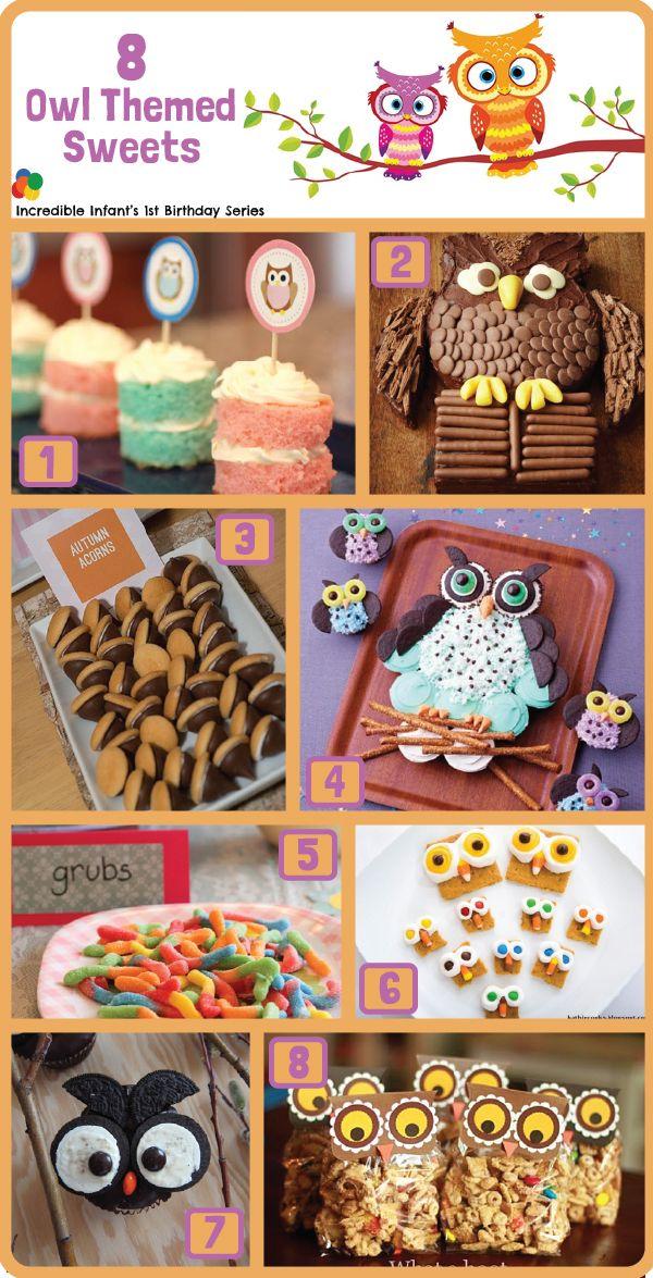 8 Owl Birthday Party Cake Ideas take from 30 Owl Birthday Party Ideas from http://www.incredibleinfant.com