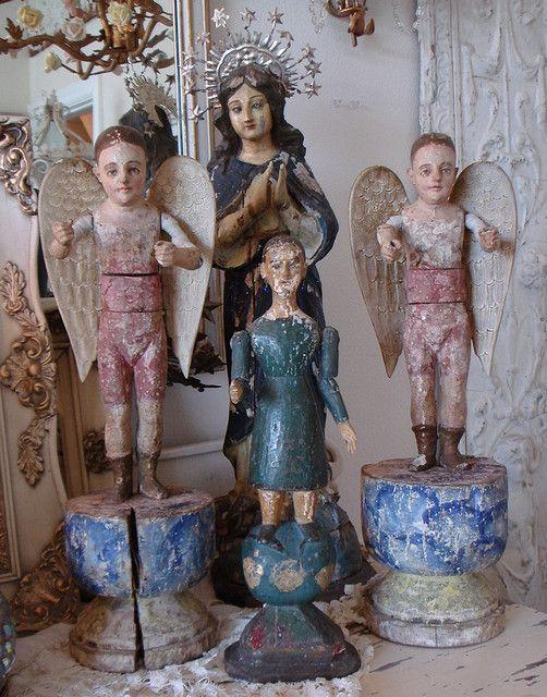 SantosDecor Ideas, Antiques Dolls, Totally Beautiful, Santo Dolls, Home Design, Century Santo, 18Th Century, Cages Dolls, Art Dolls