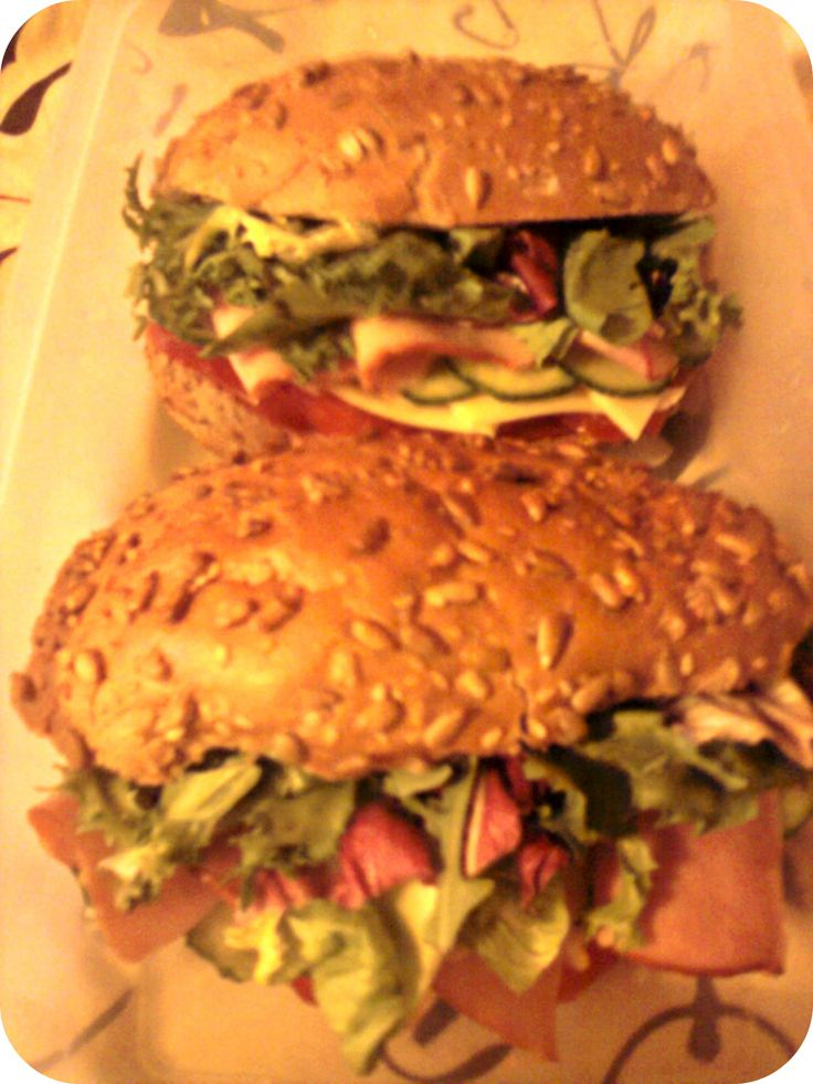 #first #sandwiches #for #my #love #cheese #ham #tomato #cucumber #lettuce #mayo