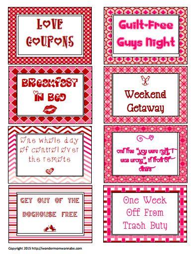 Love coupon ideas boyfriend  Gaia freebies links