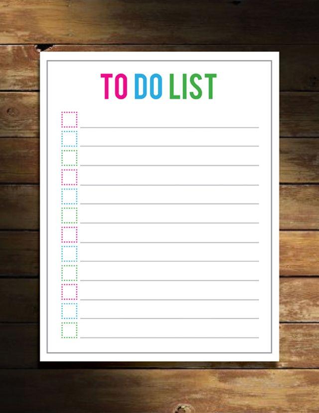 Free To-Do List Printable! | http://www.designeatrepeat.com/2012/03/free-to-do-list-printable/