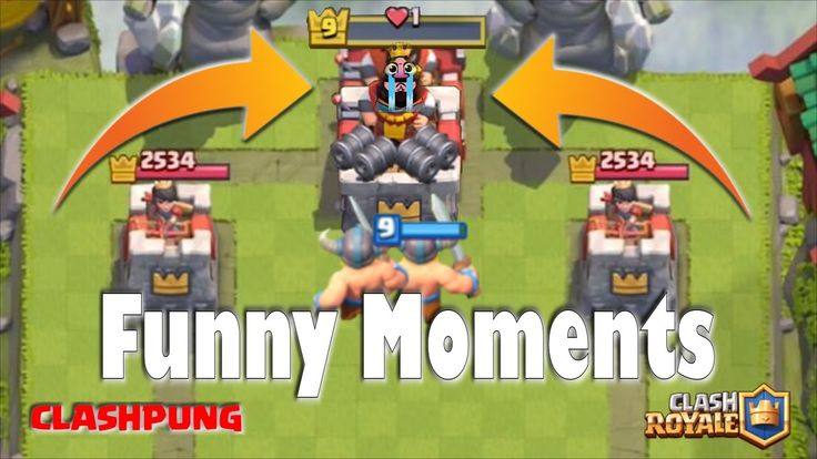 Most Funny Moments ~ Glitch ~ Fails ~ Clash Royale