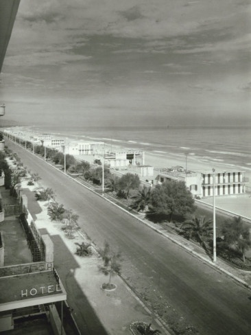 The Seafront in Pescara Photographic Print