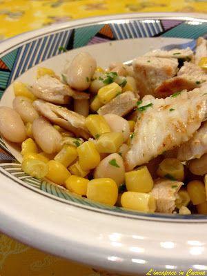 L'incapace in Cucina: Insalata di Pollo con Cannellini & Mais