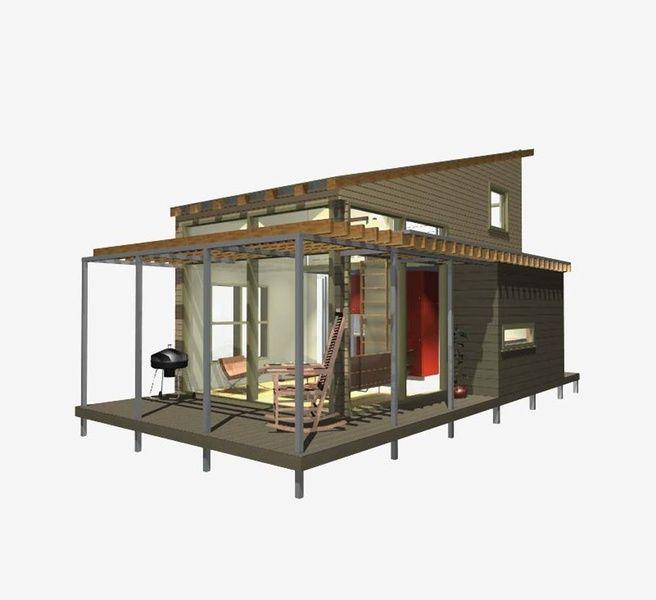 New avenue floor plans green mod tiny house small house backyard cottage