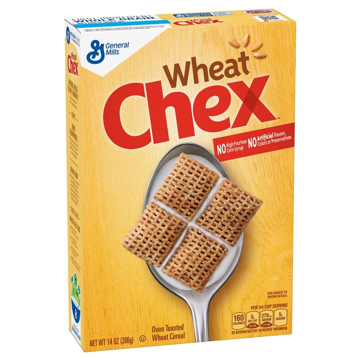 Chex Wheat Breakfast Cereal - 14oz General Mills
