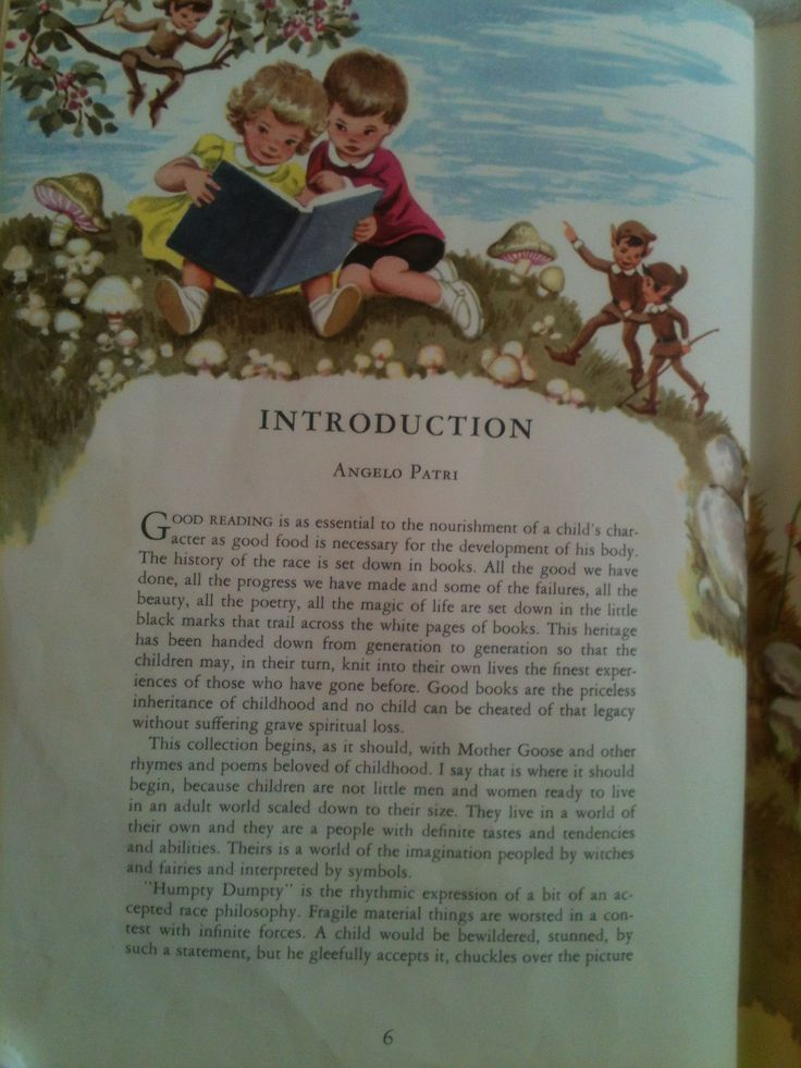 Sixth-Cover-Page of  Childcraft Encyclopedia Volume 1 1961 Edition Out-of-Print