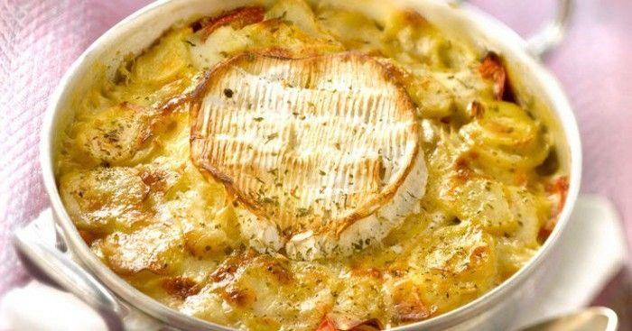 Une tuerie ! Le gratin aux pommes de terre et au camembert... Une recette, 100% délicieuse et savoureuse !