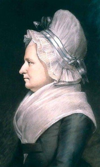 1796 James Sharples (1751-1811). Martha Washington.